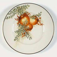 Lenox Williamsburg Boxwood & Pine Accent Luncheon Plate