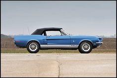 T263 1968 Shelby GT350 Convertible Three-Time MCA Concours Gold Photo 2