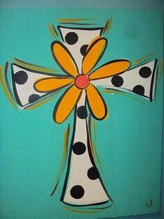69 Best Cross Canvas Paintings Images On Pinterest