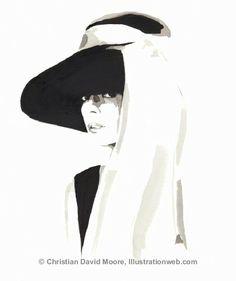 Christian David Moore #illustration.  I love her.