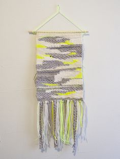 MINNA's Weavings with Plenty of Texture and Fringe - Brown Paper Bag