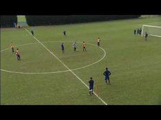 Ejercicio de transición en ataque y finalización 3v2 y progresión a 4v3 - Entrenamiento de Futbol - YouTube