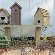 vogelhaus liebevoll bauen holz umweltfreundlich mehrere