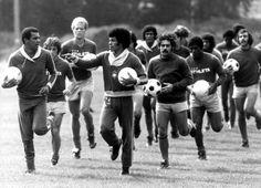Brasil, entrenando en 1978