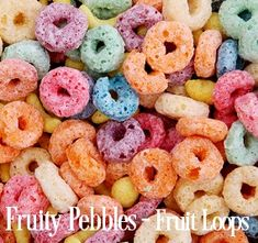 Fruity Pebbles Fragrance Oil- We were split down the middle in naming this oil, some said it smells like Fruity Pebbles and some said Fruit Loops. It is definitely sweet, yummy and definitely reminds you of either of those favorite childhood scents. Who am I kidding, I still enjoy Fruit Loops! You will love this yummy, sweet and delightful blend of juicy orange, ripe berries, tangerines and sweet sugary vanilla.&nb...