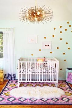7 Cute Decorating Ideas For Your Baby Girl's Nursery