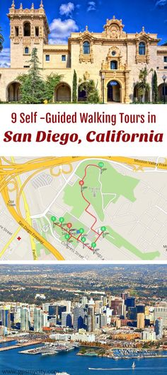 Follow these 10 expert designed self-guided walking tours in San Diego, California to explore the city on foot at your own pace. Each walk comes with a detailed tour map and together they are the perfect San Diego city guide for your trip.