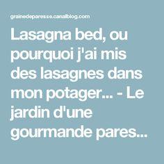 Lasagna bed, ou pourquoi j'ai mis des lasagnes dans mon potager... - Le jardin d'une gourmande paresseuse
