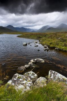 Rannoch Moor, Scotland by Beautiful World, Beautiful Places, Beautiful Scenery, Travel Sights, England And Scotland, Scotland Travel, Amazing Nature, Mood, Places To See