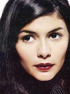 Audrey Tautou...makeup inspiration