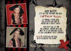 pirate invite wording Fourth Birthday, Birthday Ideas, Birthday Parties, Invitation Wording, Invite, Pirate Birthday Invitations, Pirate Party, Pirates, Birthdays