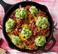 Cast iron recipe - Irish nachos