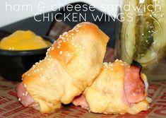 ~Ham & Cheese Sandwich Chicken Wings! – Oh Bite It
