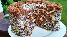 Tort extraordinar care nu necesita coacere, e nemaipomenit Food Cakes, Cupcake Cakes, Sweet Recipes, Cake Recipes, Russian Recipes, Sweet Cakes, International Recipes, Creative Food, No Bake Desserts