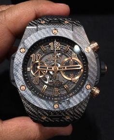 """The new Italia Independent X Hublot is pretty sick"" Hublot Watches, Men's Watches, News Italia, Italia Independent, Swiss Made Watches, Mechanical Watch, Automatic Watch, Luxury Watches, Chronograph"