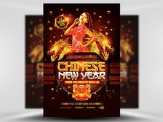 Chinese New Year Flyer Template - FlyerHeroes