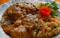 Carske šnicle - Matea Smetisko The Effective Pictures We Offer You Bosnian Recipes, Croatian Recipes, Meat Recipes, Cooking Recipes, Healthy Recipes, Macedonian Food, Pub Food, Food Garnishes, Food Concept
