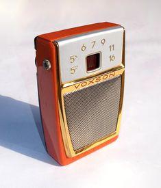 Voxson Magic - radio portatile del 1960.