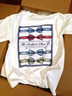Southern Prep Bowtie Shirt