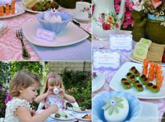 Bird's Party Blog: Mother's Day Party Inspiration: A Mother and Daughter Tea Party