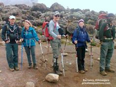 Private Expeditions #Kilimanjaro #climb day four takes them on the #Barranco wall!  www.privateexpeditions.com/blog