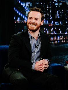 Michael cute smile