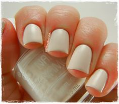 white as purity #nail #prom