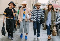 #MFW -MEN STREET STYLE- #STREETFASHION OUTSIDE THE #RUNWAY SHOW by @laurelconnie12