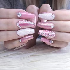 "209 Likes, 2 Comments - ✨Annabel Maginnis✨ (@nails_by_annabel_m) on Instagram: ""pinky cuties"""