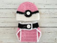 Pin for Later: If Your Kid Is Obsessed With Pokémon Go, Grab One of These Costumes Well Before Halloween Baby Pokéball Hat and Diaper Cover Baby Pokéball Hat and Diaper Cover ($35)