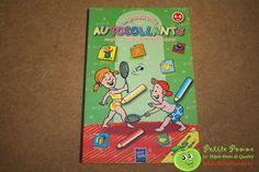 Cahier d'exercices éducatifs avec plus de 200 autocollants - Compter, écrire, formes et couleurs - (qq autocollants déjà collés)