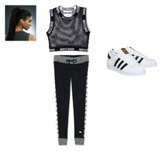 """""""brek dancer dream"""" by smiley37075 ❤ liked on Polyvore featuring Moschino, Victoria's Secret and adidas"""