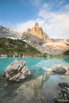 Photograph lago di Sorapis by vincent viargues on 500px