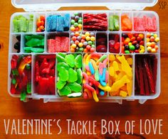 valentine day box candy