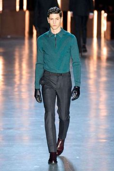 The Z Zegna Fall Winter 2012 Menswear Line is Business Chic trendhunter.com
