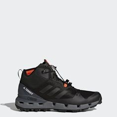 new arrival 5b852 b0338 adidas Terrex Fast Mid GTX Surround Shoes - Mens Outdoor High Tops Black  Adidas, High