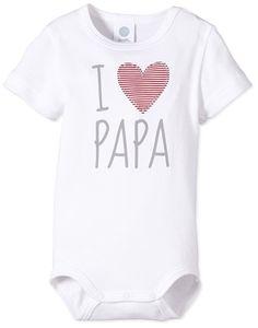 Sanetta Unisex - Baby Body, Einfarbig, Weiß. SternSchnuppenStaub ·  Männertag - Geschenke für Papa Vater Mann ... ca1059983d