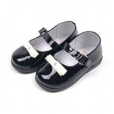 CEREMONY - Buty dziewczęce skórzane #sandałki #kokardka #skórzanebuty