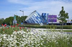 Concert Venue in France Displaying an Eccentric Architecture Concept