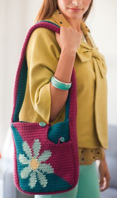 She Made It! Bag | crochet today