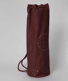 Take a look at this Chocolate Chakra Rivet Yoga Bag by OMSutra on  zulily  today 85feae47b8549