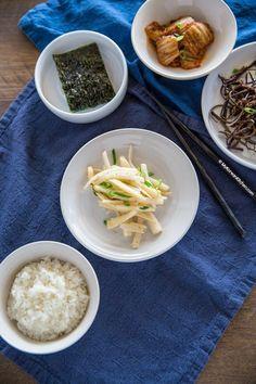 How to Make Doraji Namul (Korean Bellflower Root Side Dish)   MyKoreanKitchen.com
