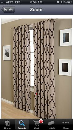 Cute curtains!