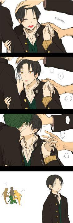 """Bastard, don't fucking kiss him!"" LÇFJÇFKFLFKJG   [MidoTaka / Shuutoku High / Kuroko no Basuke]"