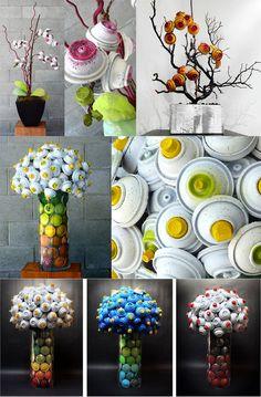 Aerosol Bouquets by Hillary Coe