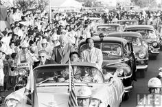 View photos of U.S. President Dwight Eisenhower's 1960 state visit to the Philippines: http://flic.kr/s/aHsjXukf6j