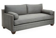 "Gramercy 84"" Sofa, Graphite"