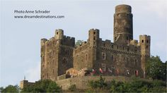 Burg Maus (Mouse) Rhine River Castles, Germany. This castle used to belong to my family a long time ago!!