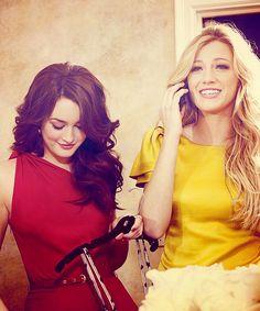 Leighton Meester & Blake Lively - Gossip Girl