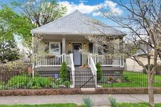 This 766 sq. ft. cottage with garage and additional finished basement for sale is in Columbus, Ohio. It's on 443 E Kossuth Street and is listed for sale here. It's a two bedroom two bat…